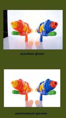 обработка фото с предметной фотосъемки