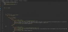 Мелкие правки html шаблон