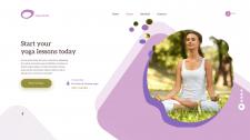 Ідея для створення сайту класу з йоги