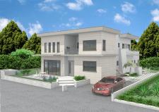 Проект дома в Израиле на холме