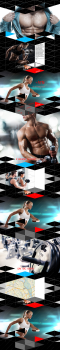 дизайн сайта фитнес