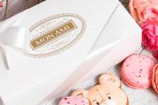 Логотип для Mon Ami Macarons