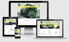 Корпоративный сайт Global Logistics Company