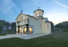 Проект и визуализация храма