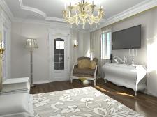 Разработка интерьера спальни