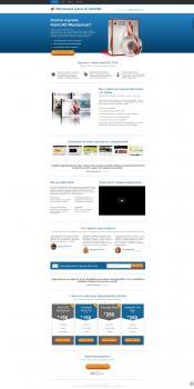 Страница приземления по продаже видеоуроков