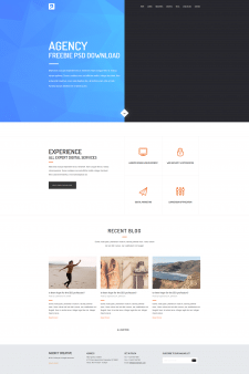 Responsive Web Design layout