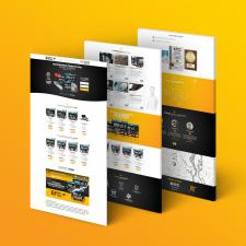 Дизайн и верстка Landin Page Генераторы KS