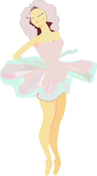 Балерина-вектор