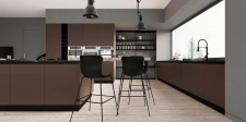Разработала проект кухонной мебели