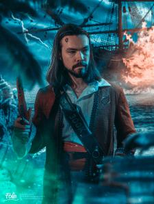 Арт в пиратской тематике