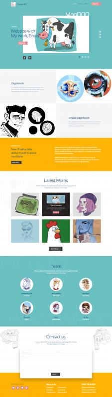WebDesign (Сайт Иллюстратора)