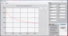 программа для расчета вязкости от скорости зсува