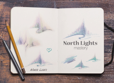 "Логотип ""North Lights Mastery"""