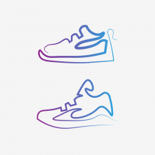 Логотип для магазина по продаже обуви в Instagram