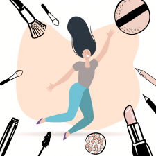 Иллюстрация для бьюти академии