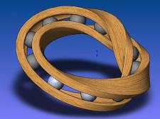 3D модель Подшипника Мёбиуса