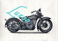 Harley Davidson Legend Art