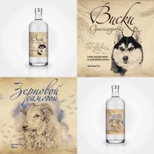 Дизайн этикеток для подарочной линейки алкоголя