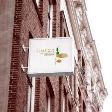 Логотип ресторан с живой музыкой