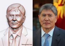 Портрет Алмазбека Шаршеновича Атамбаева (президенк
