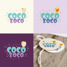 Логотип для дитячого бренду одягу
