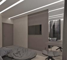 Квартира в серых оттенках г. Львов 2016г