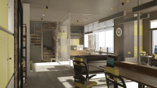 Дизайн помещения. IT офис