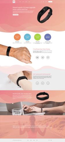 E-commerce site template