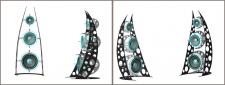 Трьохвимірна модель колонок