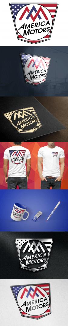 Логотип для America Motors