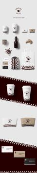 """Фирменный стиль и логотип для кофейни """"SCHÄFER"""""""