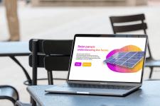 Solar Panels / Landing Designe