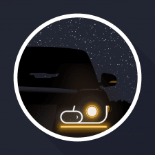 "Time for illustration ""Car at night"""
