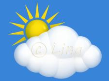 Облачко и солнышко