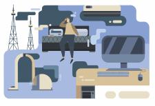 Иллюстрация для веб-сайта