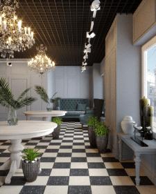 Дизайн магазина цветов и декора
