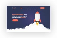 Boostio - Дизайн сайта