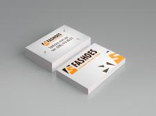 "Разработка логотипа и визитки для ""Fashoes"""
