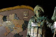 Памятник защитнику Украины в г. Никополь.