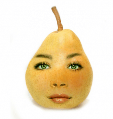 Обличчя+фрукт