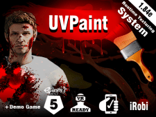 Unity Asset - UVPaint (skinned mesh Decal System)