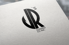 Logo for the fishing company JR's Guiding co in.