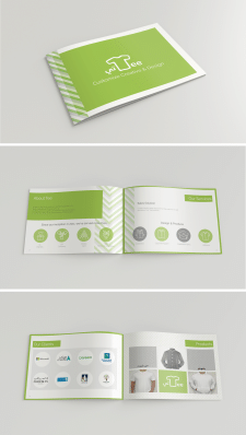 Brochure concept design for Tee arabian company