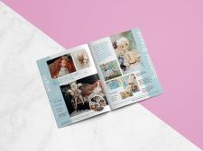 Верстка и дизайн каталога для  галереи