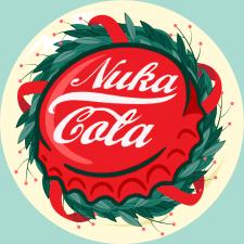 Векторный логотип (Vault-Tec Christmas)