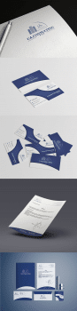 Лого + Фірмовий стиль для UA.Consulting