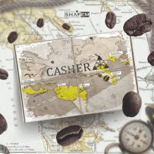 CASHER дизайн этикетки + рекламы