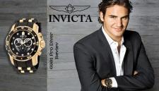 Банер для рекламной компании часов Invicta