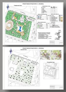 Реконструкция парка (курсовой)